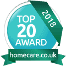 homecare.co.uk Top 20 Award